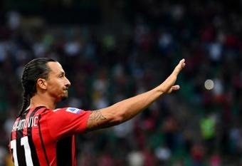 Ibrahimovic forfait face à l'Atletico de Madrid. afp