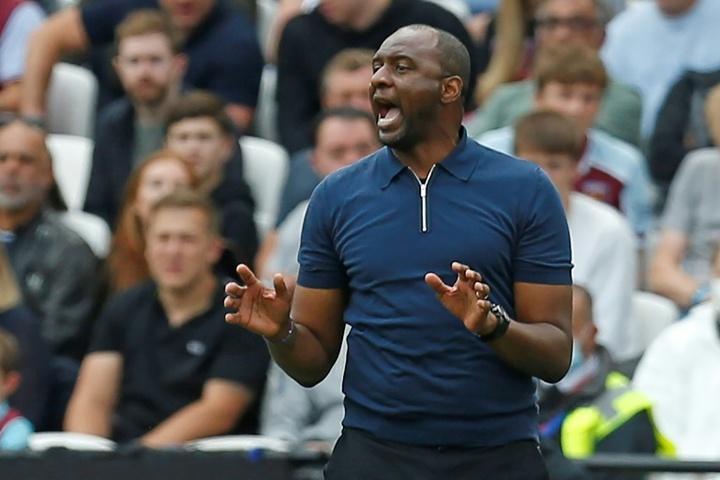 Crystal Palace décroche le nul contre West Ham. AFP