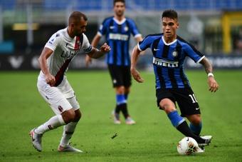 Inter continua com problemas.AFP