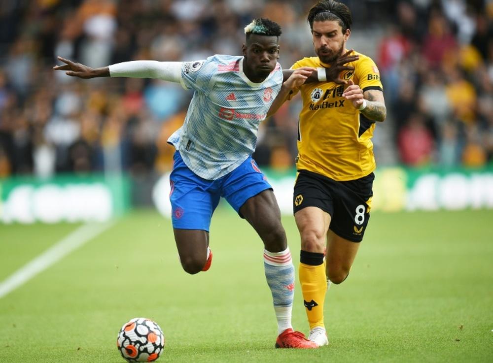 Manchester United pourrait vendre Pogba cet hiver. AFP