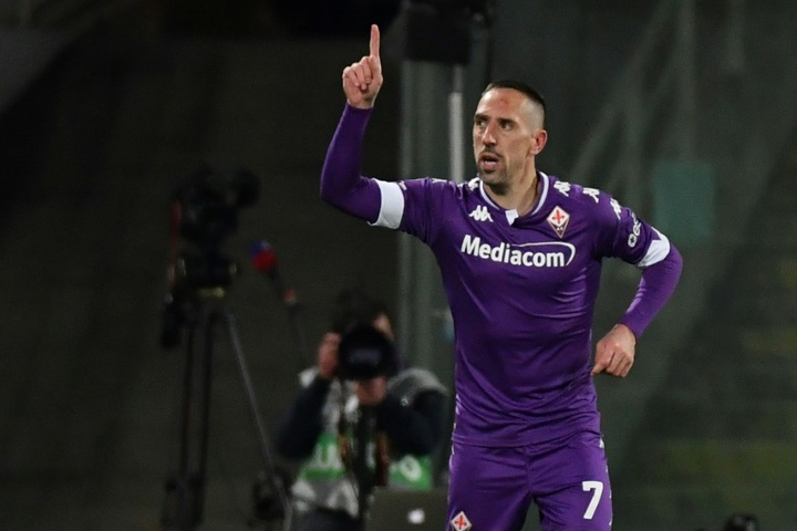 Ribéry va signer à Salernitana. AFP