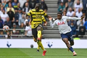 Sissoko debutó en el Watford tras llegar del Tottenham