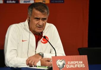 Günes deja la Selección de Turquía tras las últimas decepciones. AFP