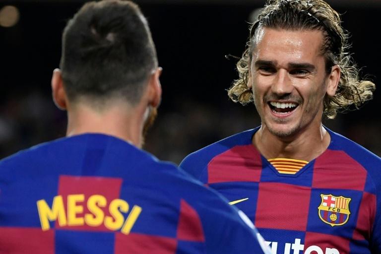Messi Griezmann 2019-20