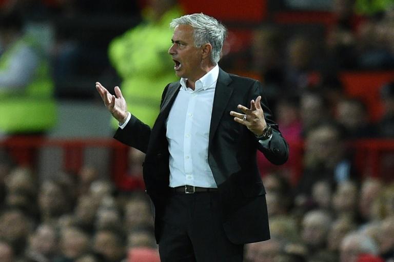 José Mourinho, durante su etapa en el Manchester United