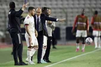 Roberto Martínez habló sobre Hazard. AFP