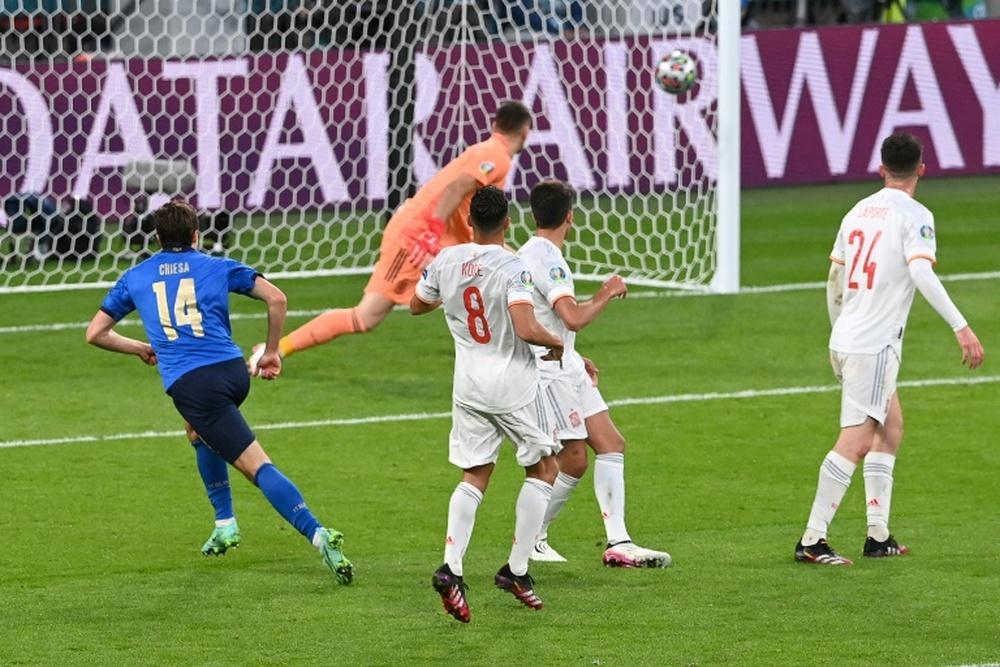Ultim'ora del calcio italiano in data 2 settembre 2021. AFP