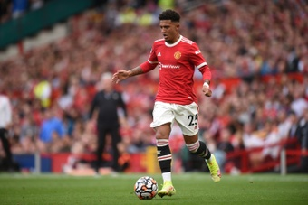 El United fue eliminado por el West Ham. AFP/Archivo