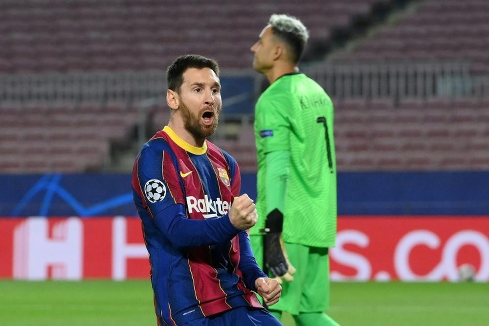 Messi 'redebutará' en Europa. AFP