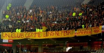 Lens y Lille se verán nuevamente las caras. AFP