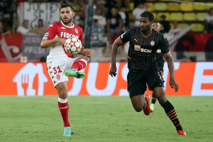 Compos probables : Shakhtar Donetsk - Monaco. AFP