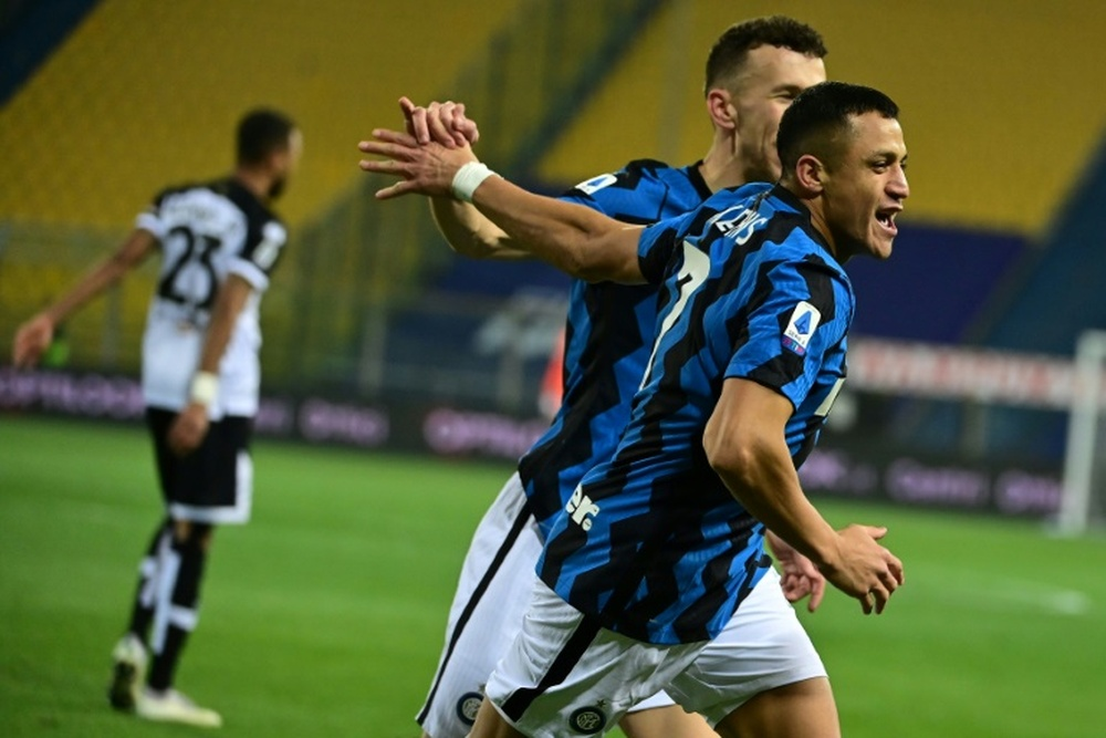 L'Inter spera di recuperare Sanchez per il Real Madrid. AFP