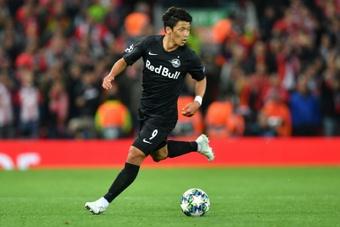 Hwang Hee-Chan prêté à Wolverhampton. afp