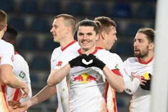 Accord trouvé entre le Bayern et Leipzig pour Sabitzer. AFP
