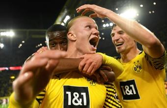 Due di picche del Borussia al PSG per Haaland. AFP
