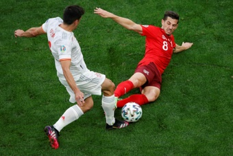 Gerard Moreno não vai mais jogar pela Espanha. AFP