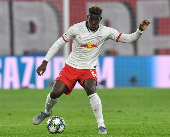 Mukiele convocado pela França.AFP