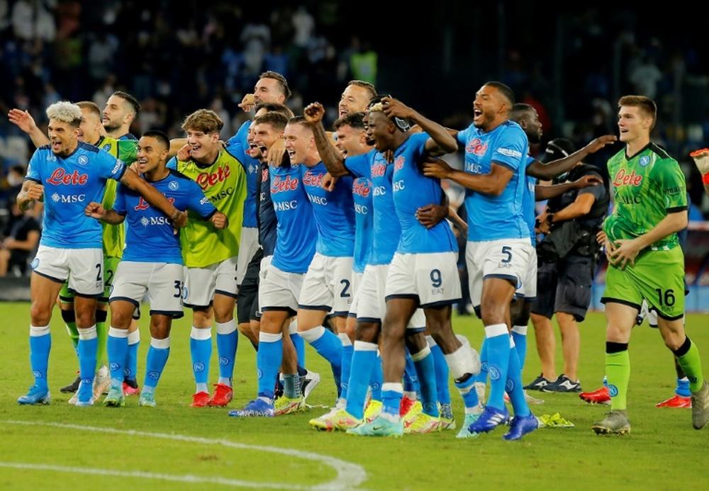 Ultim'ora del calcio italiano in data 11 settembre 2021. AFP