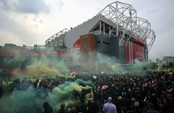 Manchester United a perdu 107 millions d'euros pendant la pandémie. AFP