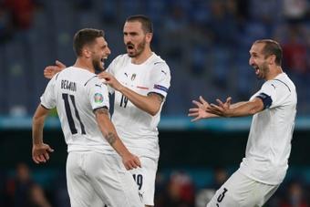 Milan et Leicester s'intéressent à Berardi. AFP