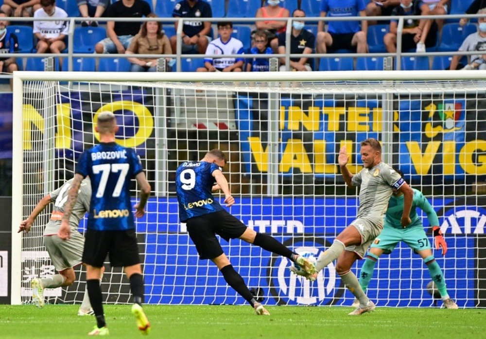 Le probabili formazioni di Sampdoria-Inter. AFP