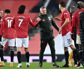 Cavani ne doit pas être content avec l'arrivée de Cristiano. afp