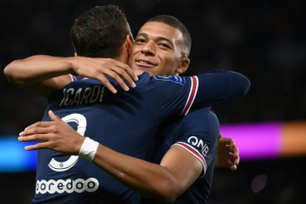 City will go after Mbappe. AFP