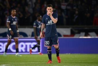 Messi fuori contro il Montpellier. AFP