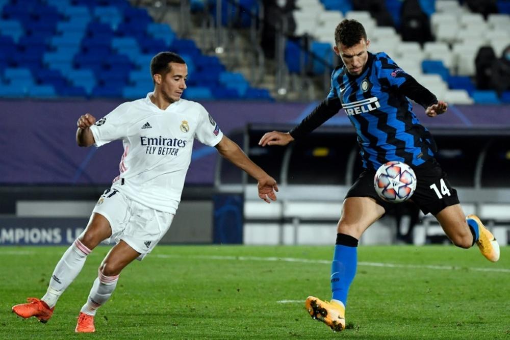 Prováveis escalações de Inter de Milão e Real Madrid. AFP