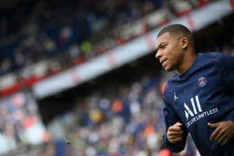 Mbappe made his Champions League debut five years ago for Monaco against Bayer Leverkusen. AFP