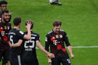 Il Bayern lavora al rinnovo di Goretzka. AFP