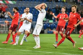 Ultim'ora del calcio italiano in data 6 settembre 2021. AFP