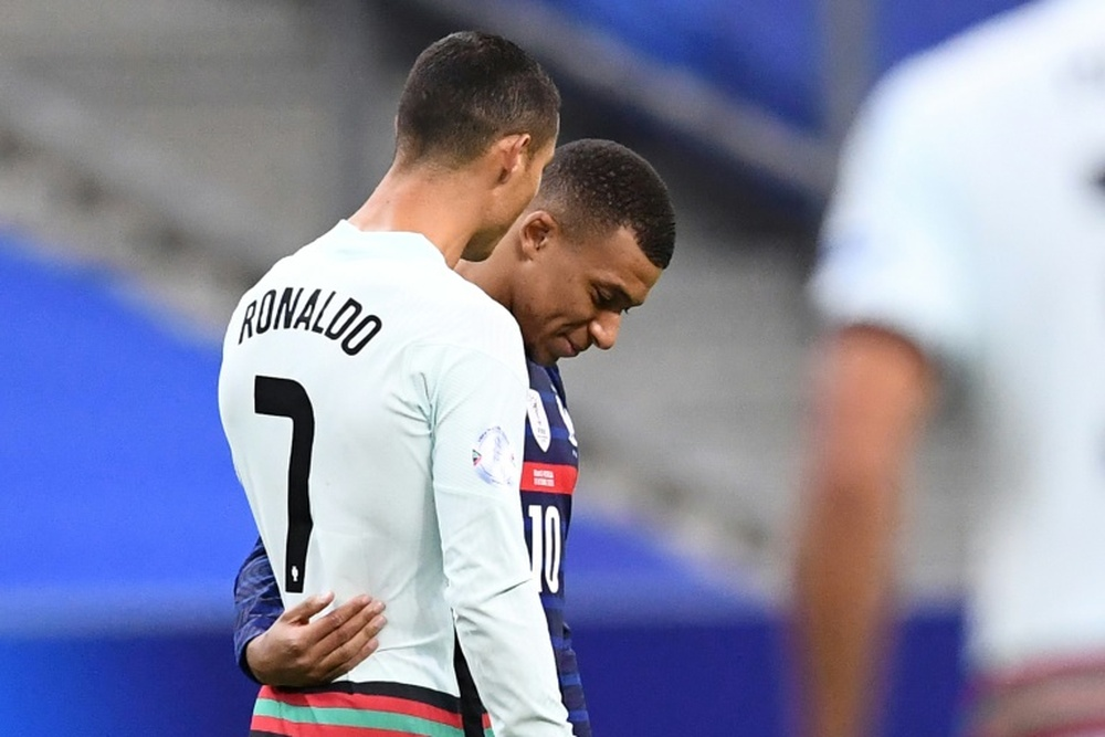 When everyone was talking about Mbappé, United announced Cristiano. AFP
