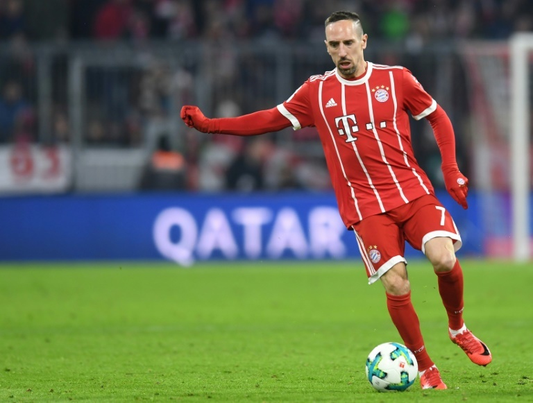 Un record pour Ribéry — Bayern Munich
