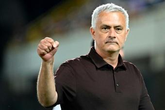 Mourinho pediu calma e paciência a seus jogadores. AFP