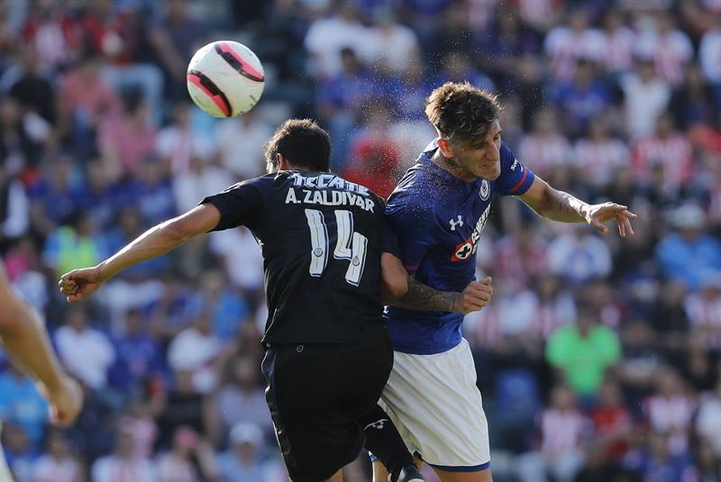 Derrota Cruz Azul a Potros UAEM en juego de pretemporada