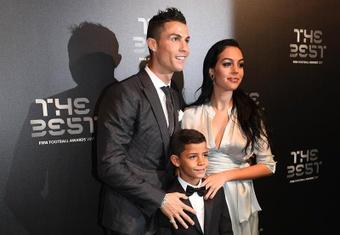 L'anecdote amusante du fils de CR7 sur Messi. EFE