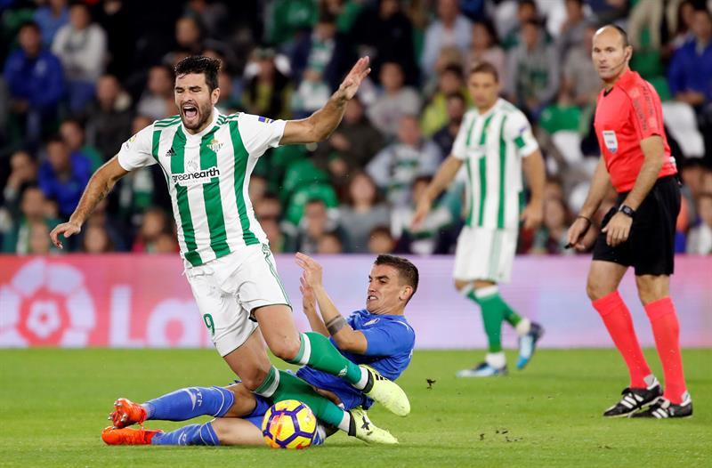 Guardado marca un gol en el empate del Betis con el Girona