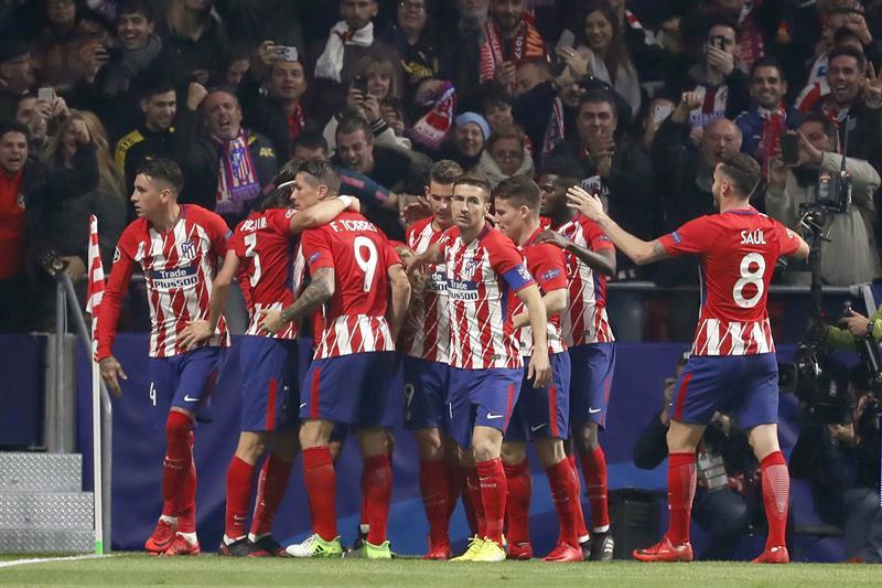 El Atlético de Simeone aplastó a Levante
