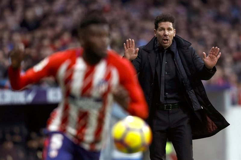 Atlético Madrid se fue de la Championss