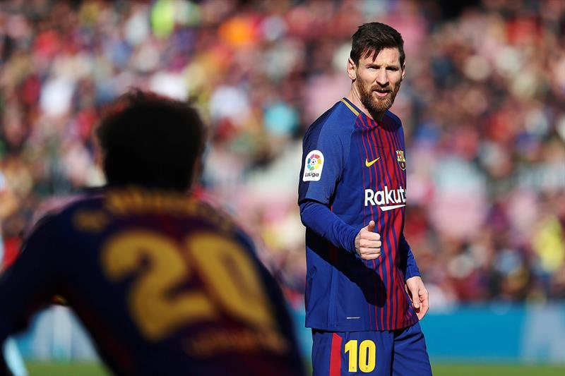 Diario español revela las cifras del nuevo contrato de Messi con Barcelona