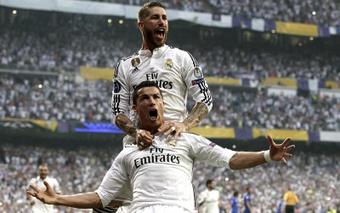 Cristiano Ronaldo superará Sergio Ramos.EFE