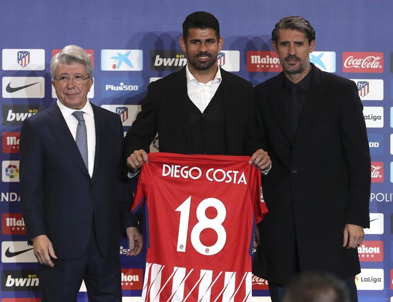 El Atlético de Madrid presenta oficialmente a sus dos nuevas estrellas