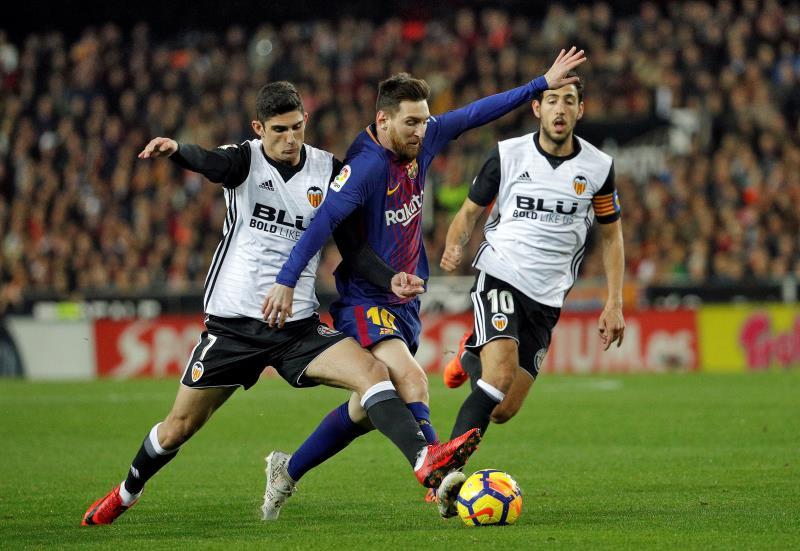 Luciano Vietto debutó en Valencia con un hattrick — Copa del Rey