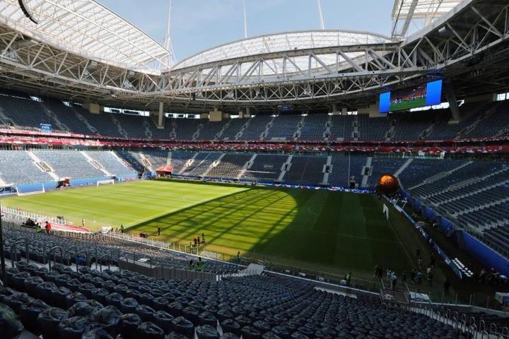 UEFA deu a conhecer o logo da final da Champions de 2022.EFE