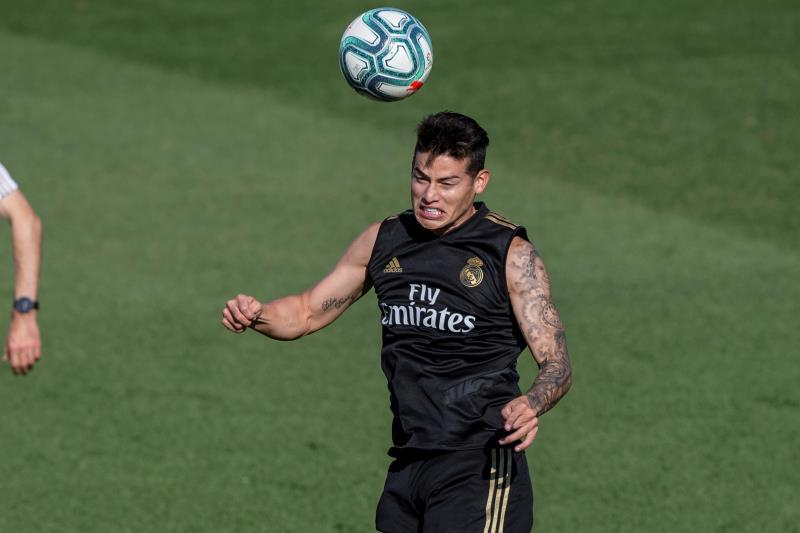 James responde al Madrid con compromiso