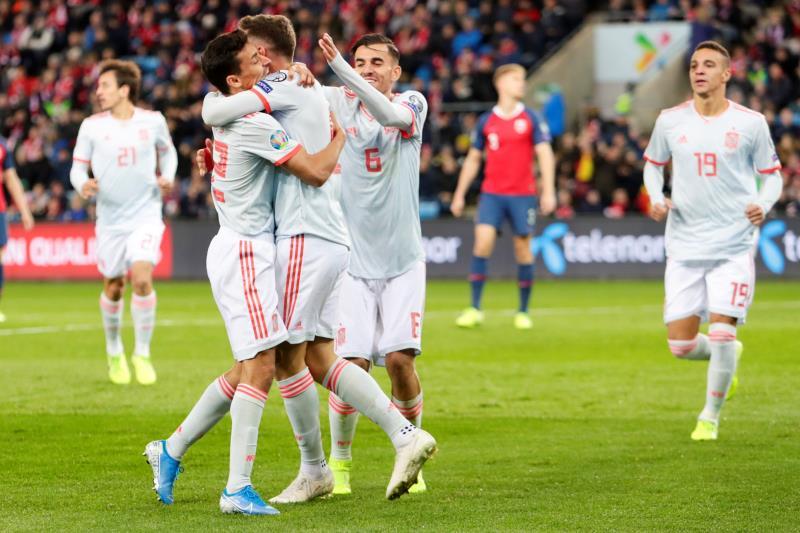 España se cuela en la Eurocopa con un gol agónico ante Suecia