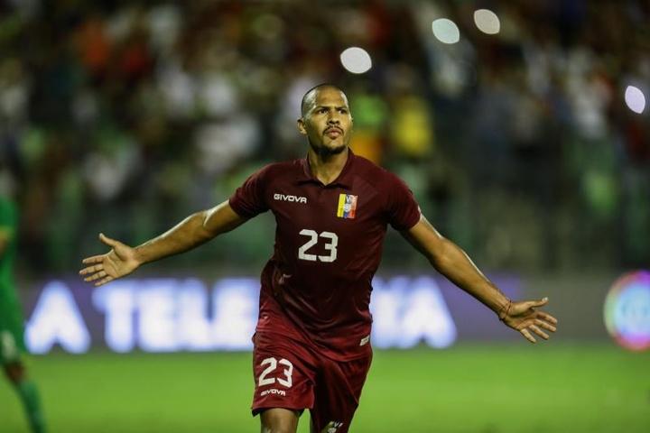 Salomón Rondón s'envole vers Everton. afp