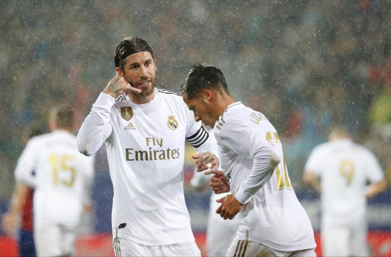 El Madrid baila bajo la lluvia de Ipurua