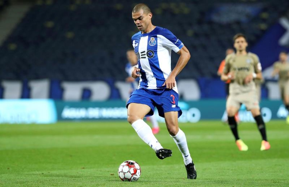 Pepe: uma dor de cabeça para o Atlético.EFE